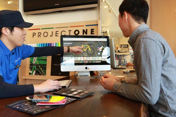 Project One制作風景。