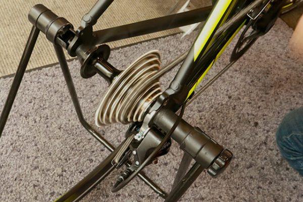 スポーツバイク 変速の確認