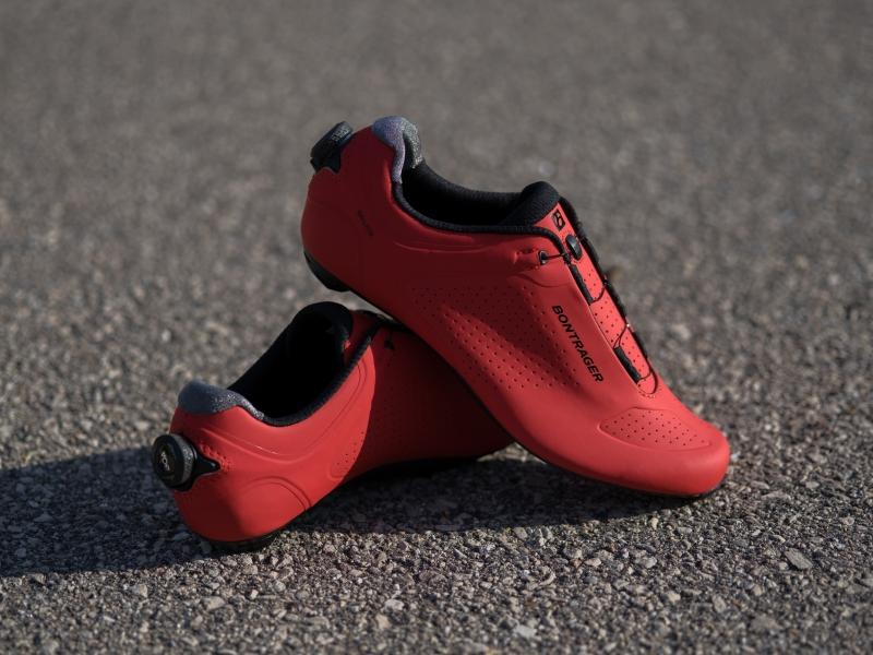 Bontrager Ballista Shoe_Red_Detail 1_mr